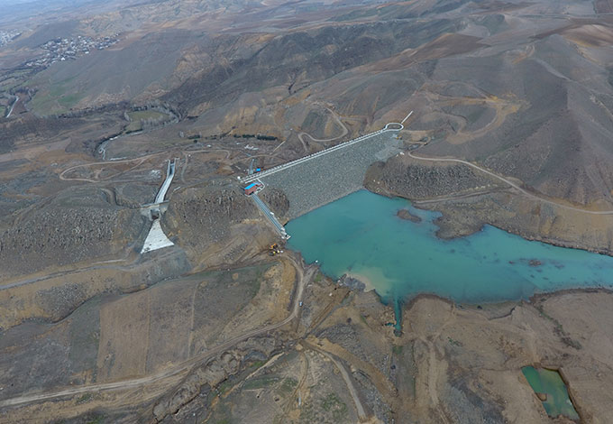 Tazekand Dam and Related STR